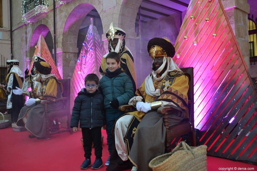 11 Visita dels Carters Reials a Dénia 2019 - Lliurament de carta