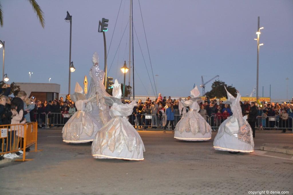 Cabalgata Reyes Magos Dénia 2019 - Ballet de lumières