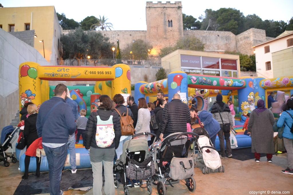 17 Visita dels Carters Reials a Dénia 2019 - Inflables infantils
