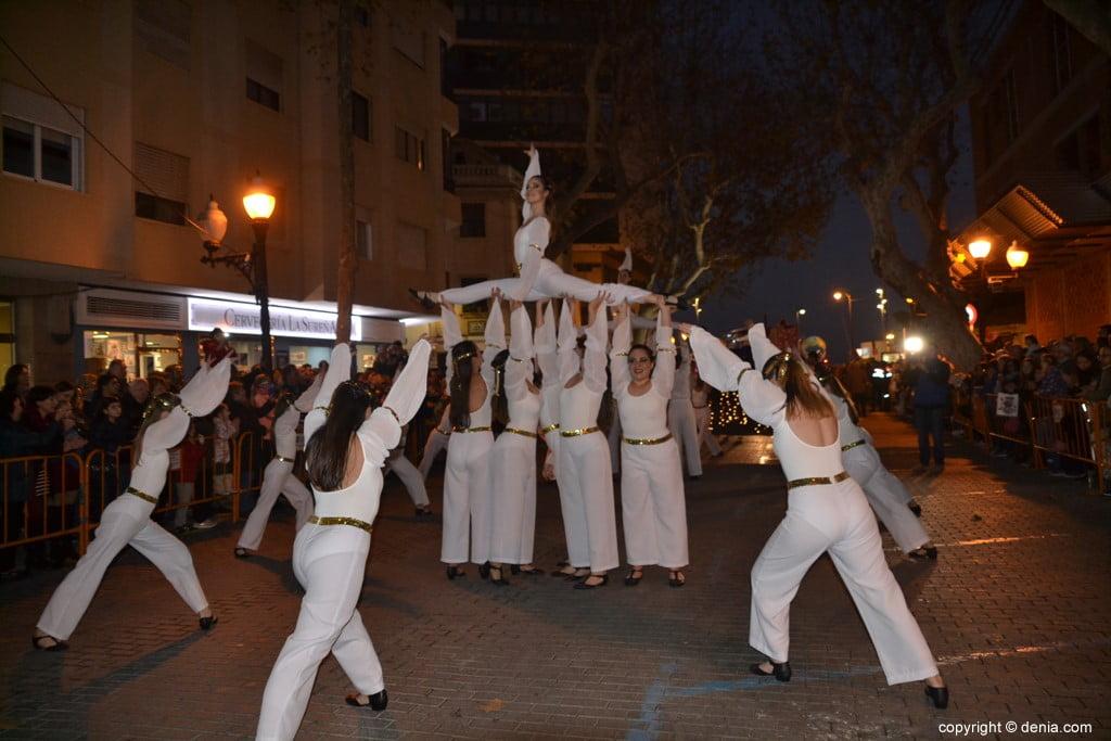 Cabalgata Reyes Magos Dénia 2019 - Ballet