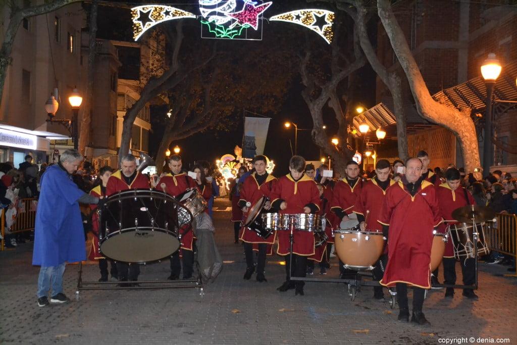 Cabalgata Reyes Magos Dénia 2019 - Musique