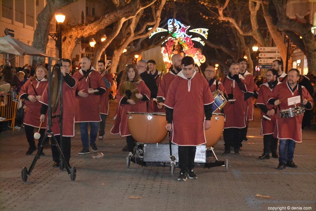 Cabalgata Reyes Magos Dénia 2019 - Musiciens
