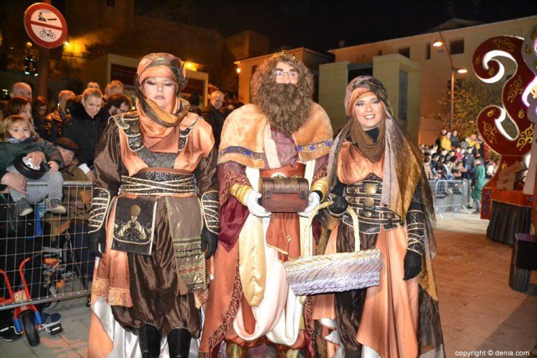 Three Kings Cavalcade Dénia 2019 - Gaspar et ses pages