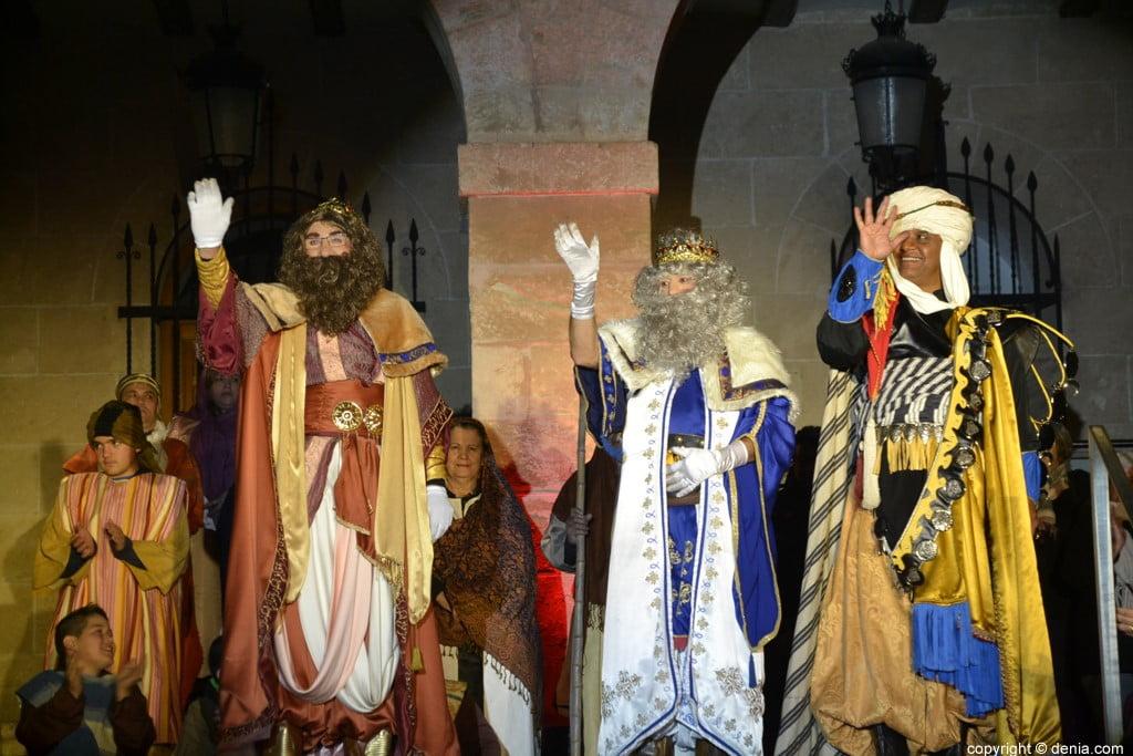 Cabalgata Reyes Magos Dénia 2019 - Melchor, Gaspar et Baltasar