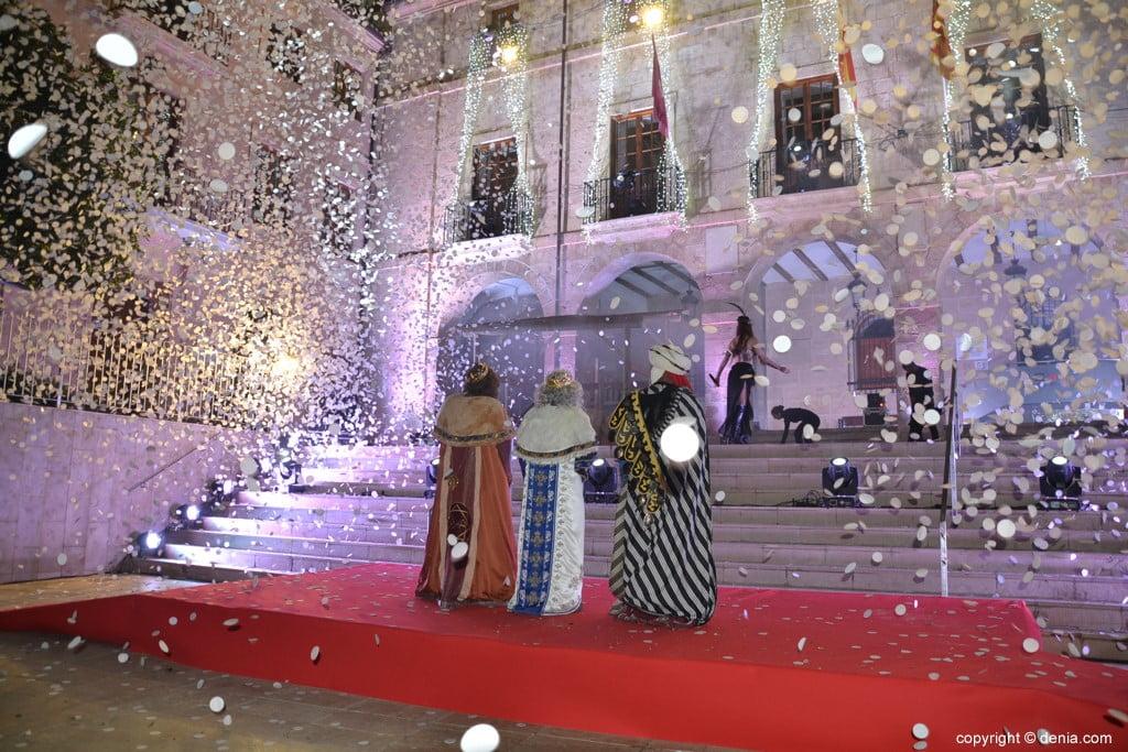 Cabalgata Reyes Magos Dénia 2019 - Spectacle musical de Piro