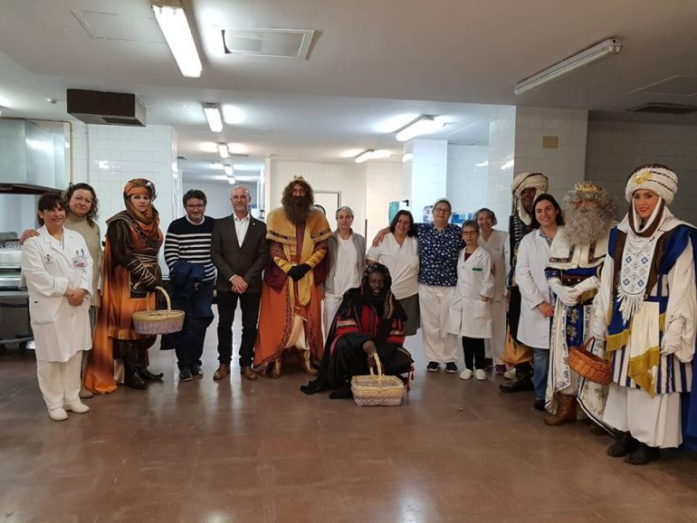The Magi in the Hospital of La Pedrera