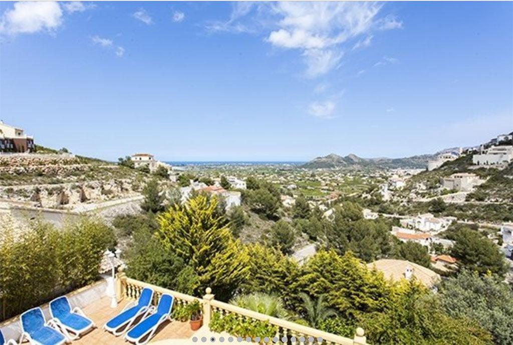 Magnificas vistas desde arriba vacation villas
