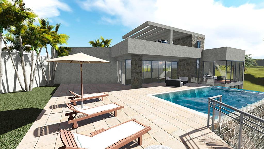 Maqueta de la vivienda GV Arquitecnia