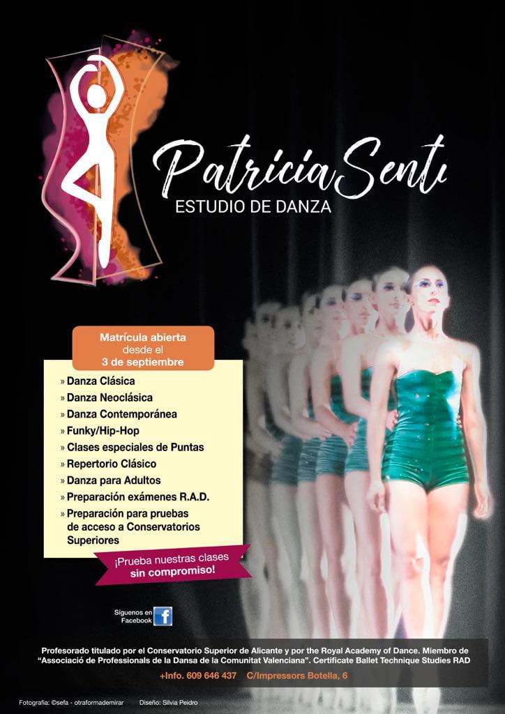 Matrícula oberta Estudi de Dansa Patricia Senti