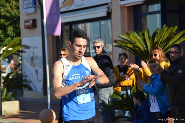 Miquel Piera entrando como ganador