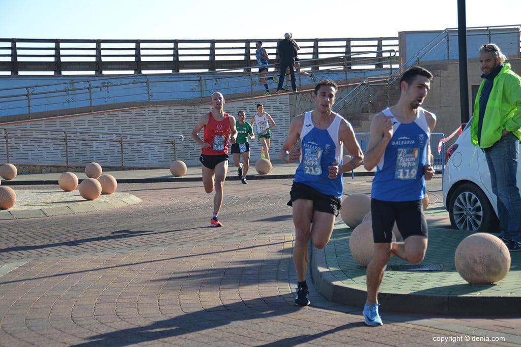 MIquel Piera y Fran López encabezando la carrera