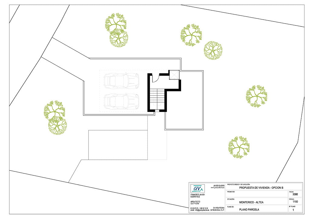 Planta Model GV Arquitecnia