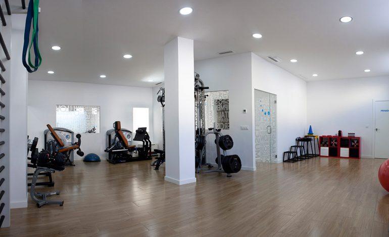 Sala entrenamientos Francisco Prieto Studio