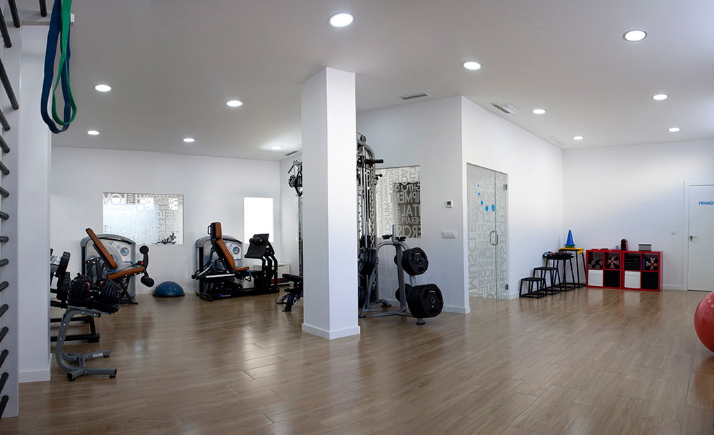 Sala entrenaments Francisco Prieto Studio