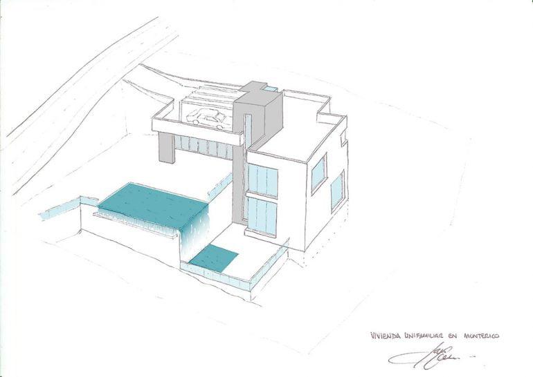 Vivienda Unifamiliar en Monterico GV Arquitecnia