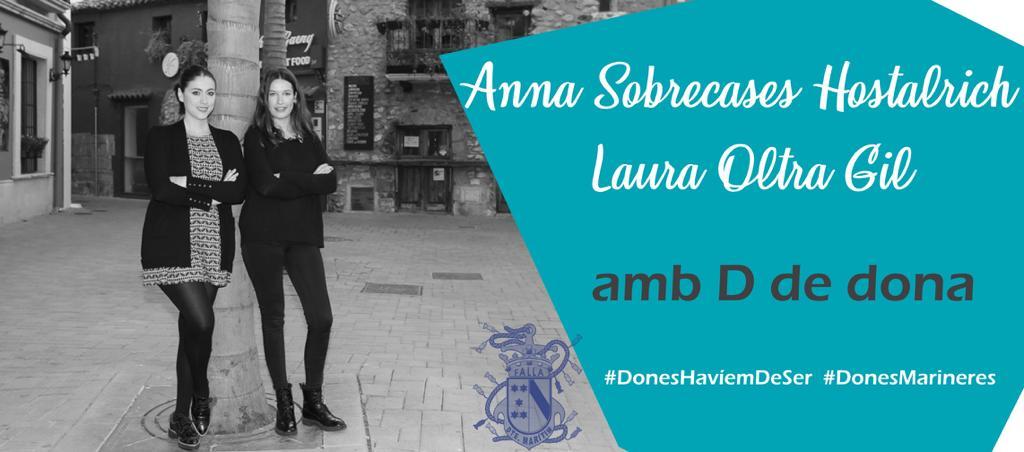 Anna Sobrecases y Laura Oltra