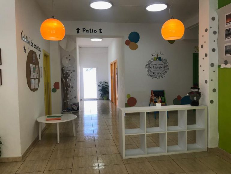 Instalaciones de la Escoleta El Castellet en Denia
