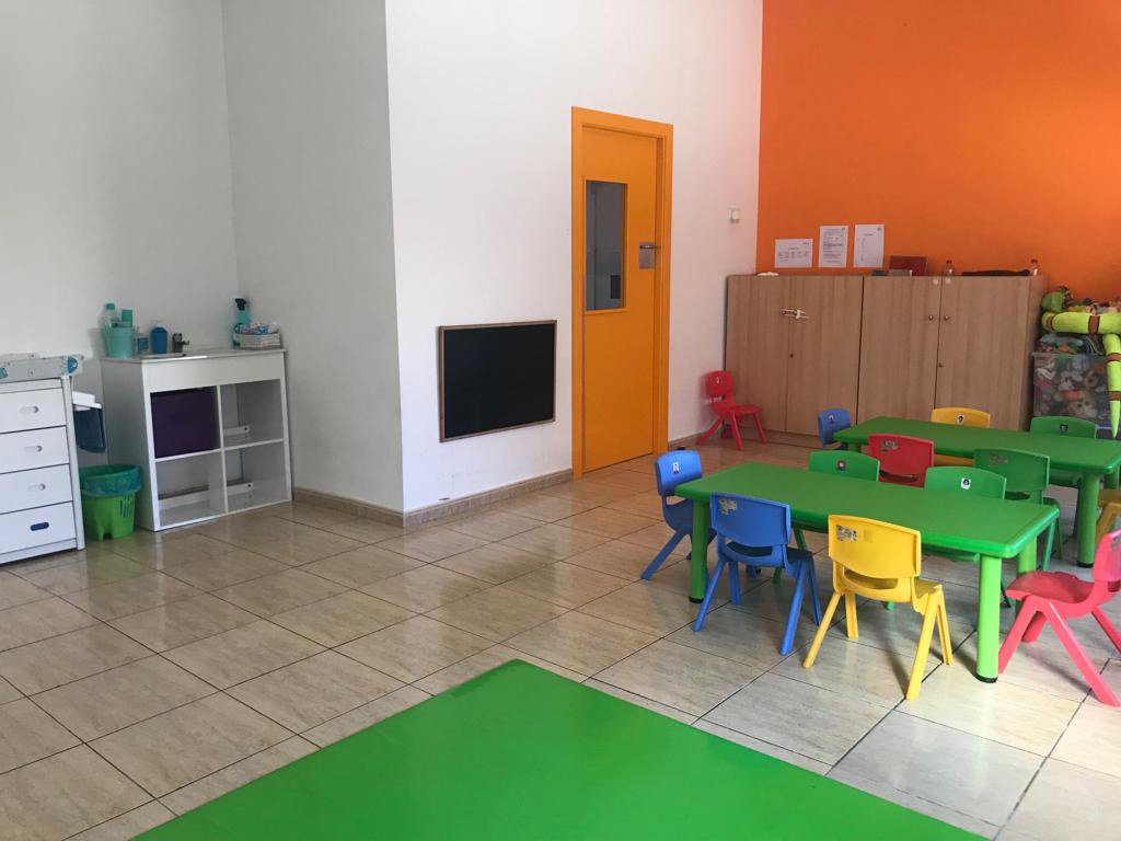 Interior de las instaciones Escoleta El Castellet