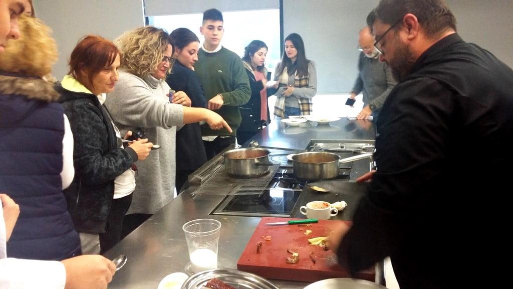 Prácticas en Dénia del Grado de Gastronomía