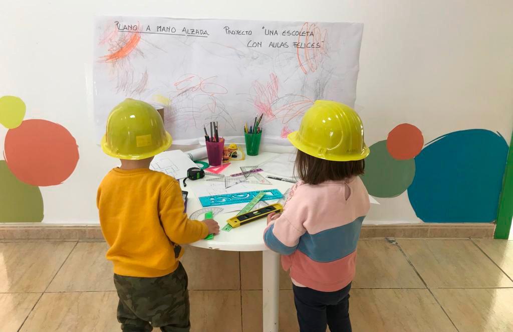 Projekt 'Wenn ich groß bin, will ich es werden' Escoleta El Castellet