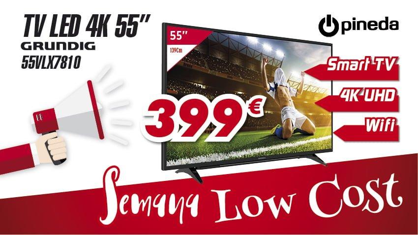 Semana Low cost Electrodomésticos Pineda TV