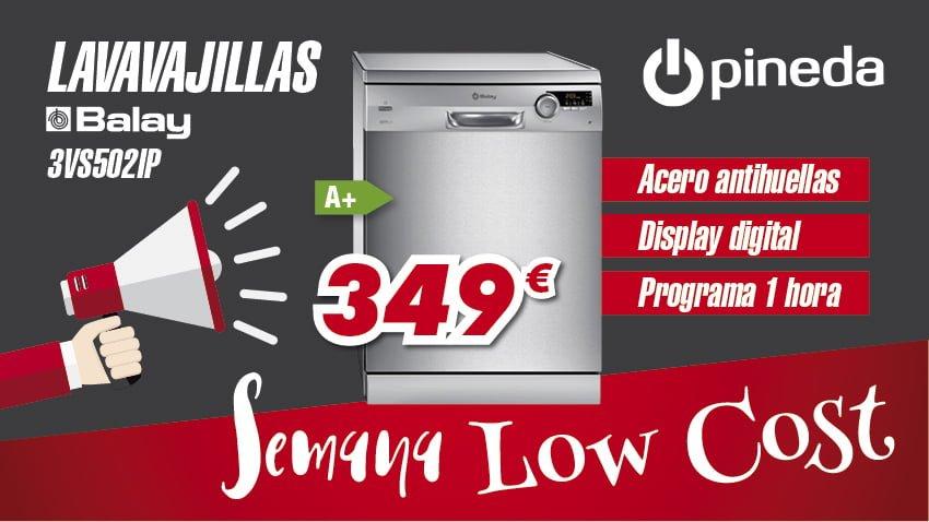 Semana Low Cost Electrodomésticos Pineda