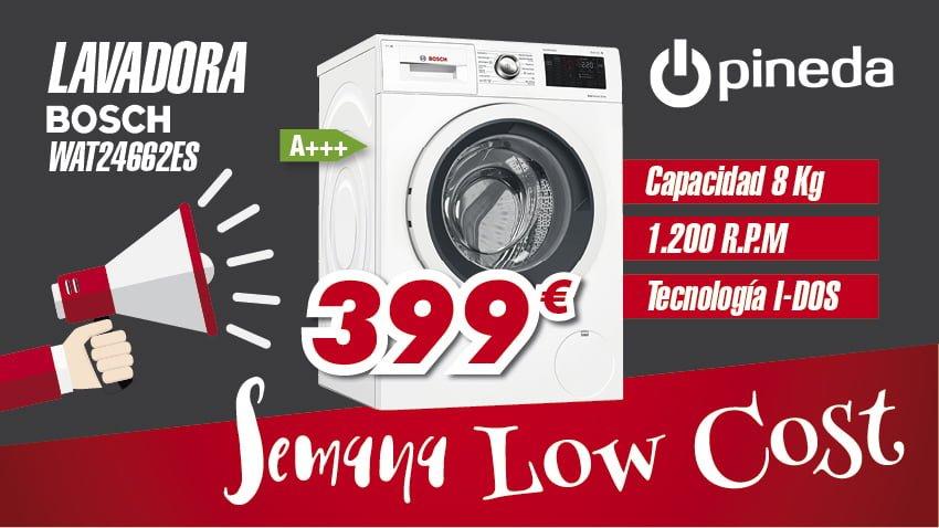 Semana Low Cost Lavadora Electrodomésticos Pineda