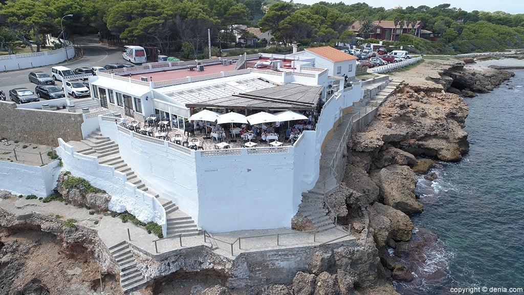 Terrassa del Restaurant Mena