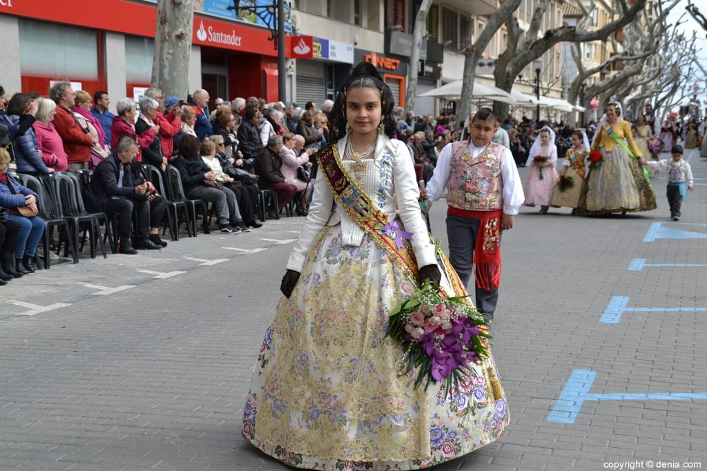 0 'Flower offering fallas Dénia 2019 - Falla Camp Roig