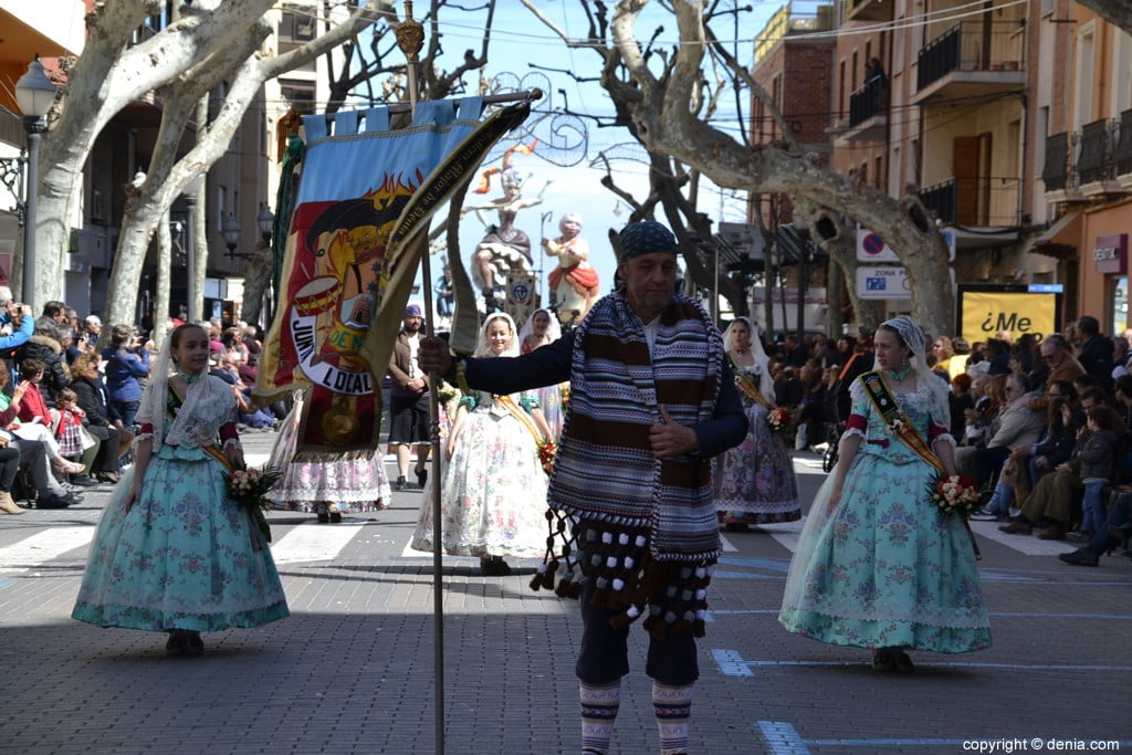 Offering Fallas Dénia 2019 - Fallera Local Board