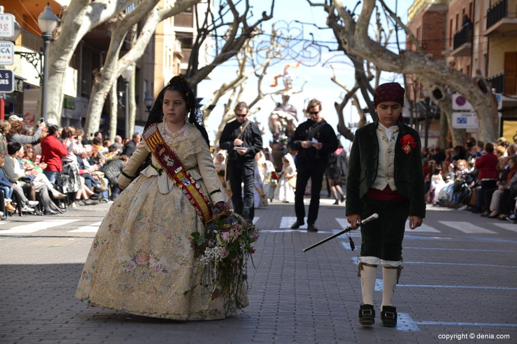 01 Fallas Dénia Offering 2019 - Baix la Mar Falla