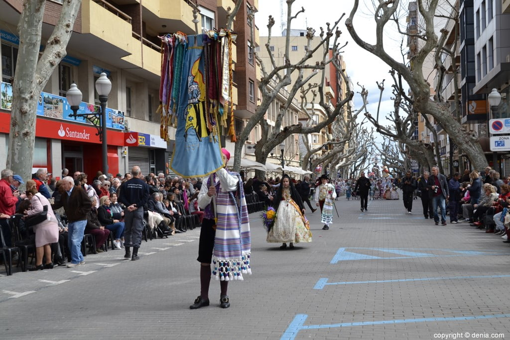 01 2019 Offering Dénia Fallas - Falla Campaments