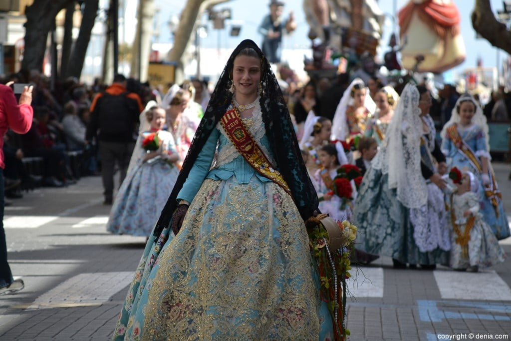 01 2019 Offering Fallas Denia - Falla Diana