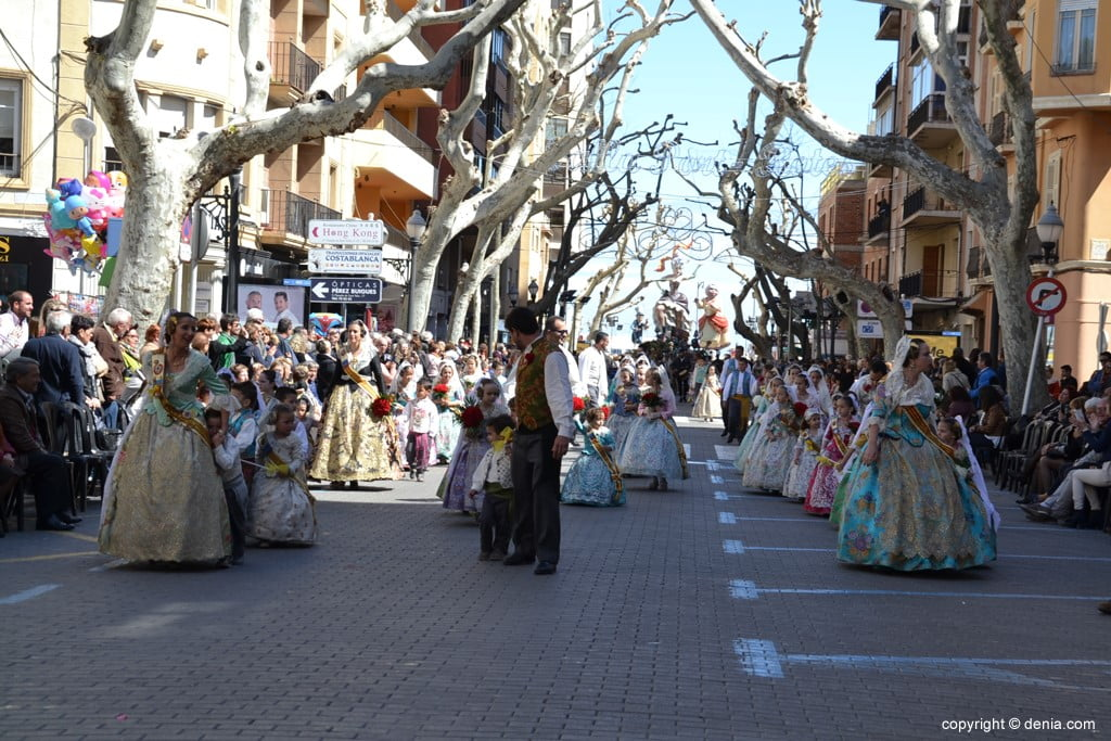 01 2019 Offering Fallas Denia - Falla Oeste