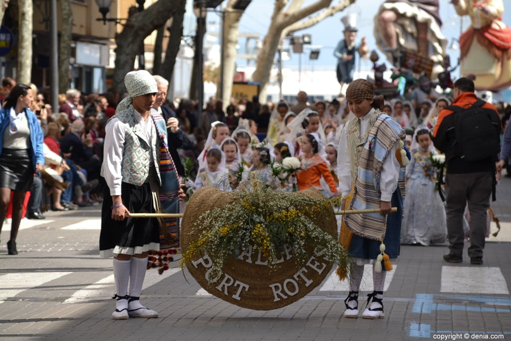 01 Fallas Dénia Offering 2019 - Port Rotes Falla