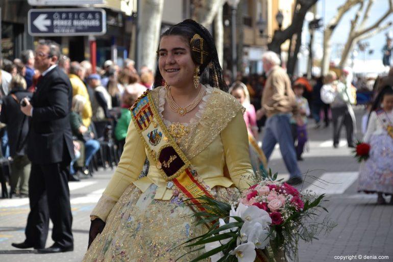 02 Ofrenda Fallas Dénia 2019 - Darrere del Castell