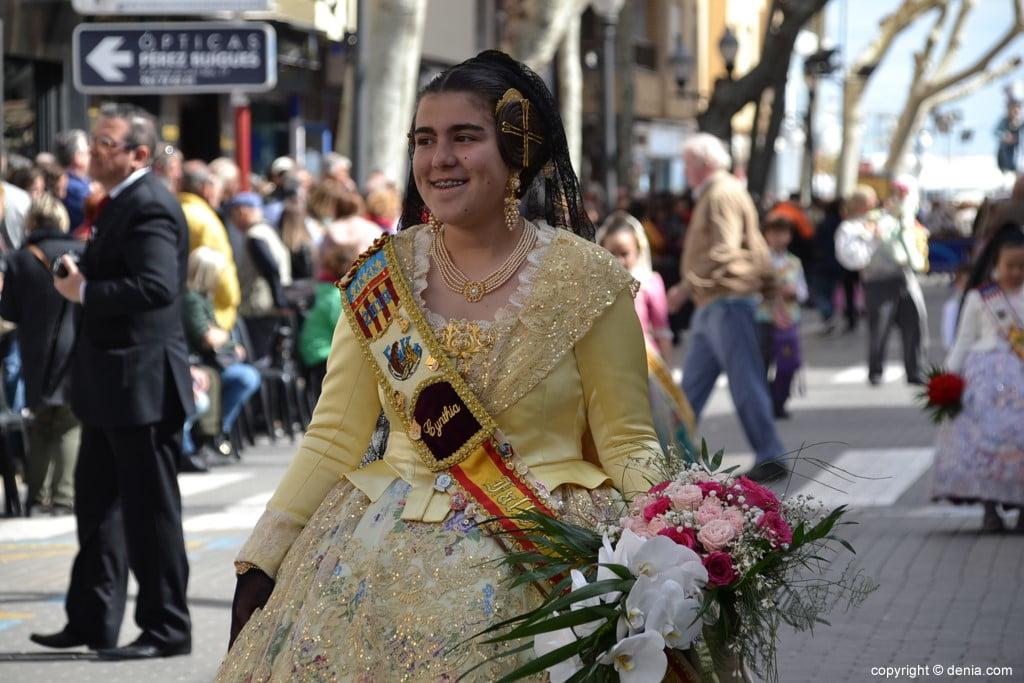 02 offrant Fallas Dénia 2019 - Darrere del Castell