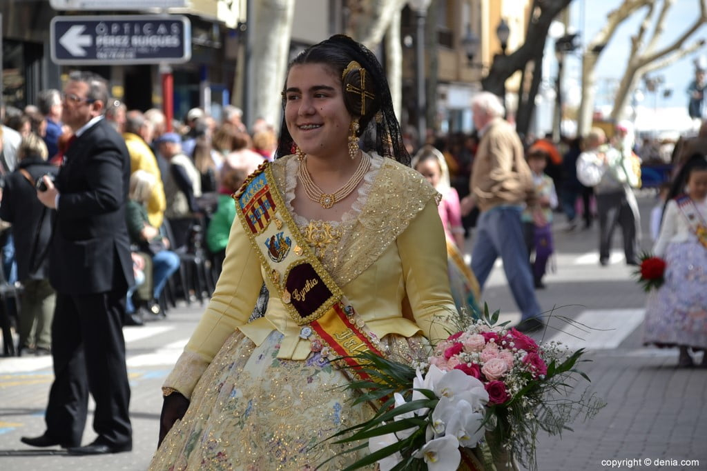 02 Offering Fallas Dénia 2019 - Darrere del Castell