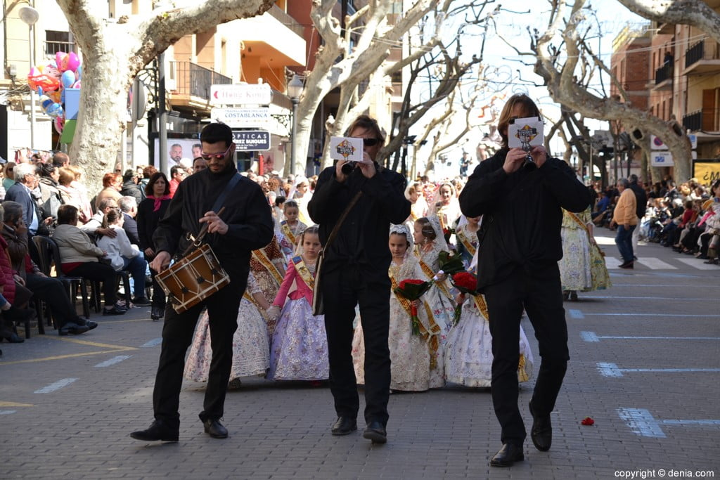 02 Fallas Dénia Offering 2019 - Baix la Mar Falla