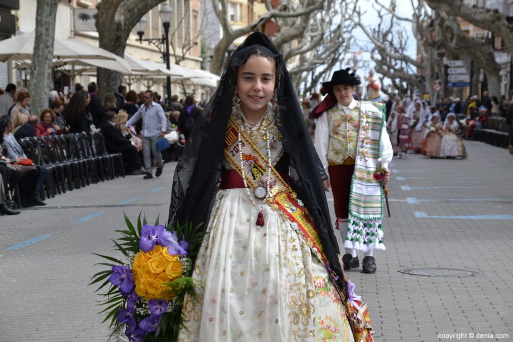 02 2019 Offering Dénia Fallas - Falla Campaments