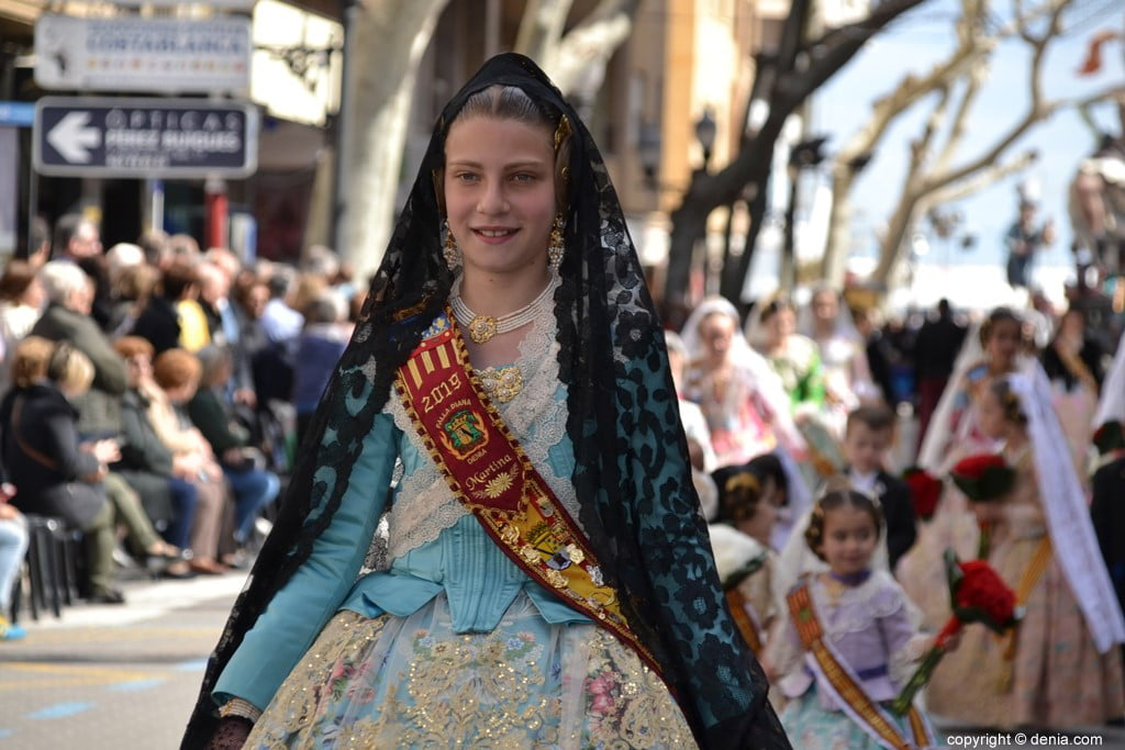 02 2019 Offering Fallas Denia - Falla Diana