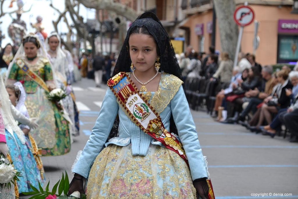 02 2019 Offering Dénia Fallas - Falla Les Roques