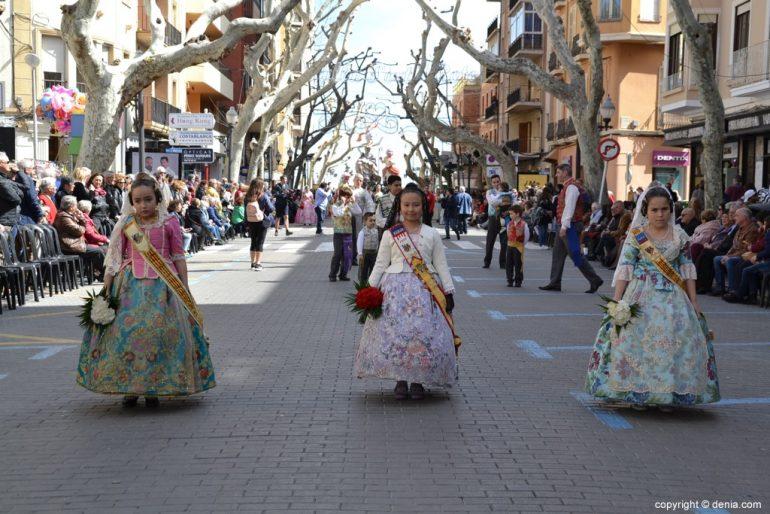 03 Offering Fallas Dénia 2019 - Darrere del Castell