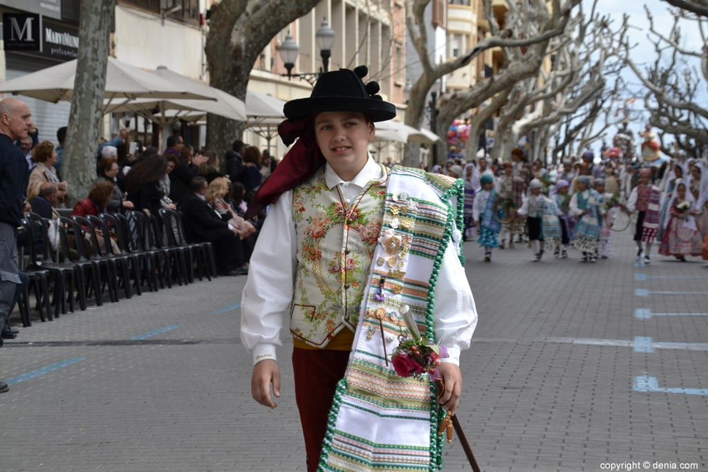 03 2019 Offering Dénia Fallas - Falla Campaments