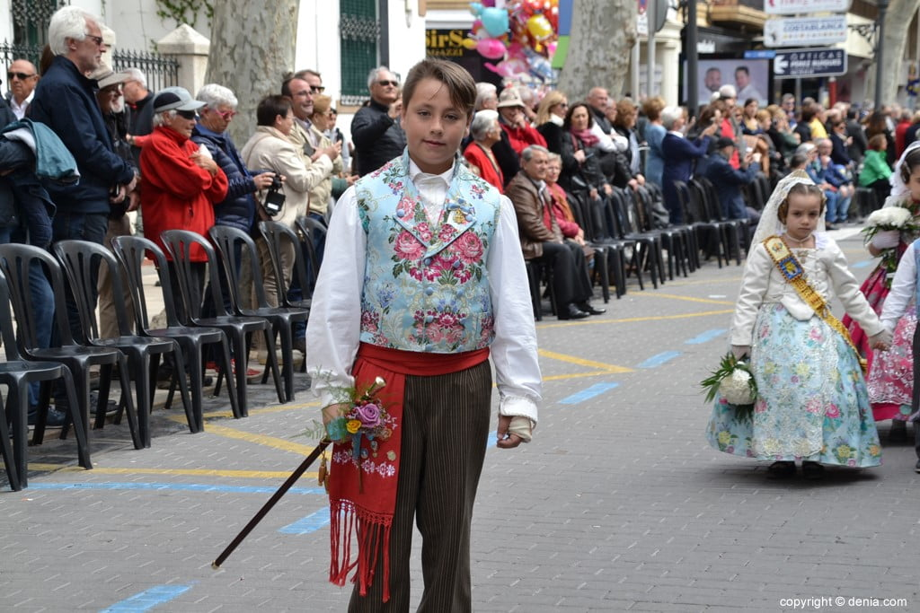 03 2019 Offering Dénia Fallas - Falla Les Roques
