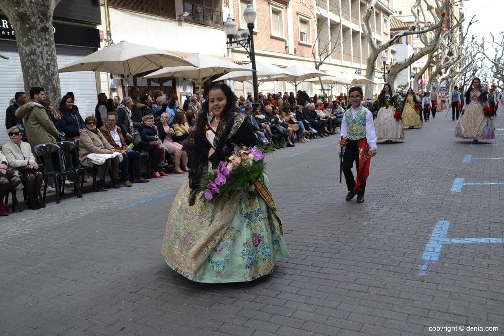 03 2019 Offering Dénia Fallas - Falla Saladar
