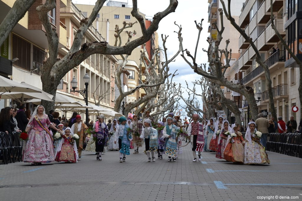 04 2019 Offering Dénia Fallas - Falla Campaments