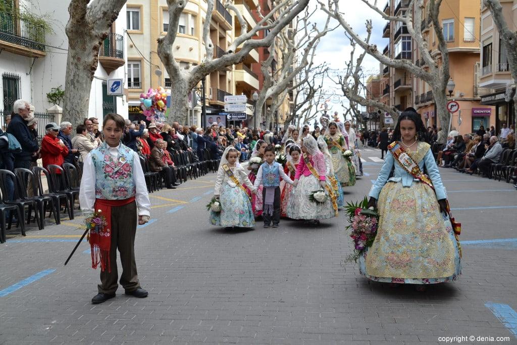 04 2019 Offering Dénia Fallas - Falla Les Roques