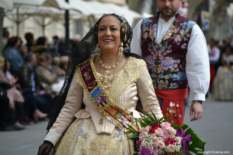 05 Offering of flowers fallas Dénia 2019 - Falla Camp Roig