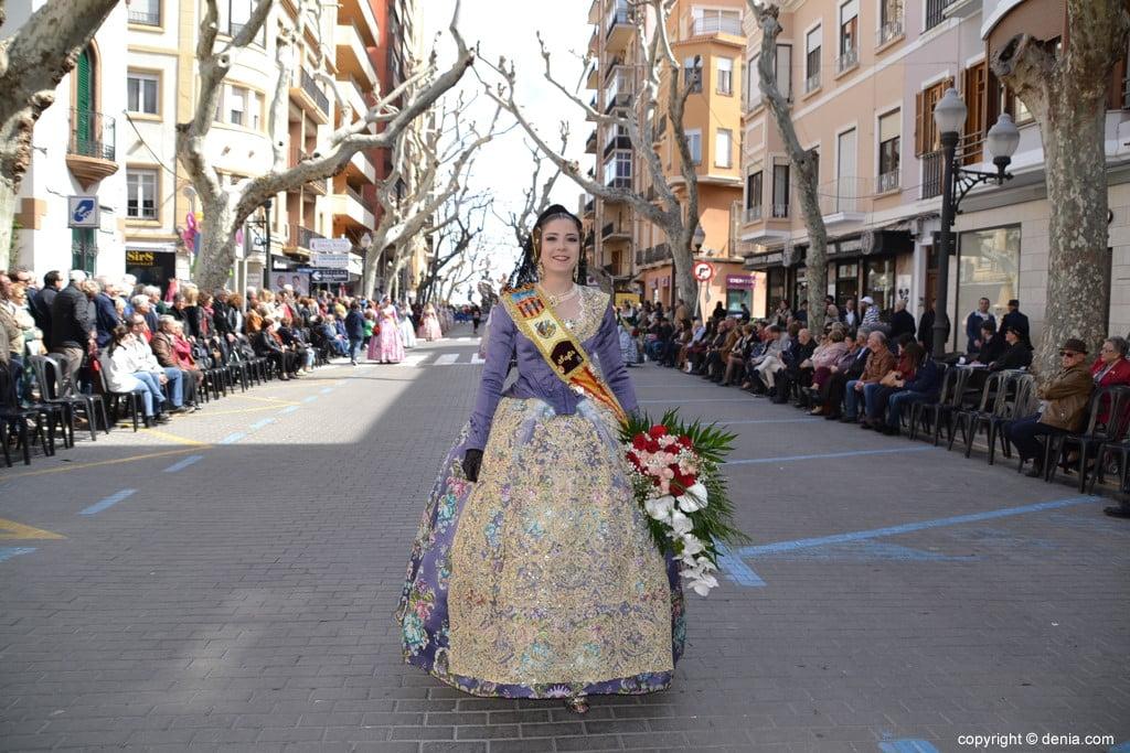 05 Offrant Fallas Dénia 2019 - Darrere del Castell